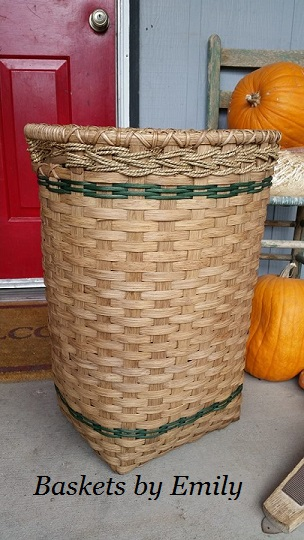 Tall Hamper Basket