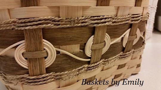 """""""Amber' Hamper Basket"""