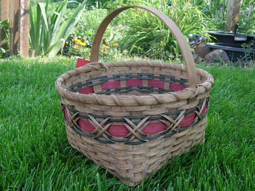 Square Williamsburg Basket-