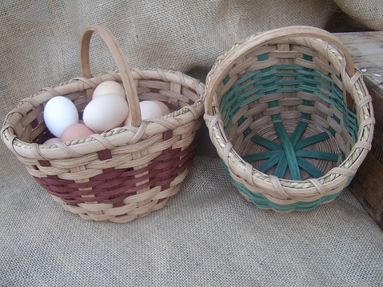 -The Egg Gathering Basket -