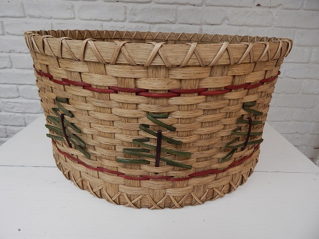 Christmas Tree Basket Pattern